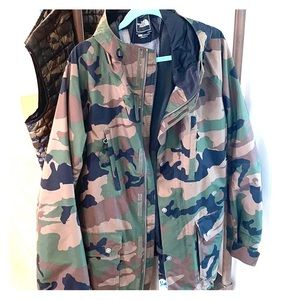 The North Face - Ski Outershell - Camo - XXL